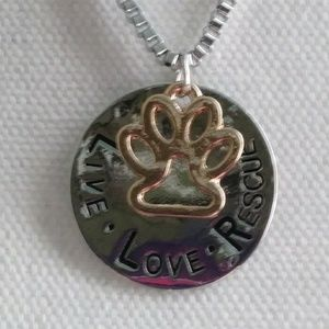3/$24 Paw necklace
